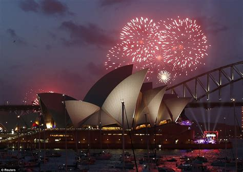 new year parade adelaide 2015 australia welcomes 2015 with a with sydney fireworks