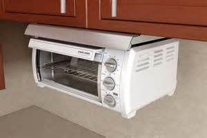 Space Maker Toaster Oven Adding Under Cabinet Toaster Ovens In Your Kitchen Space