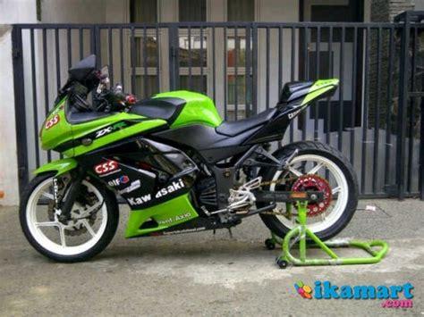 modifikasi motor 250 warna hijau modifoke info
