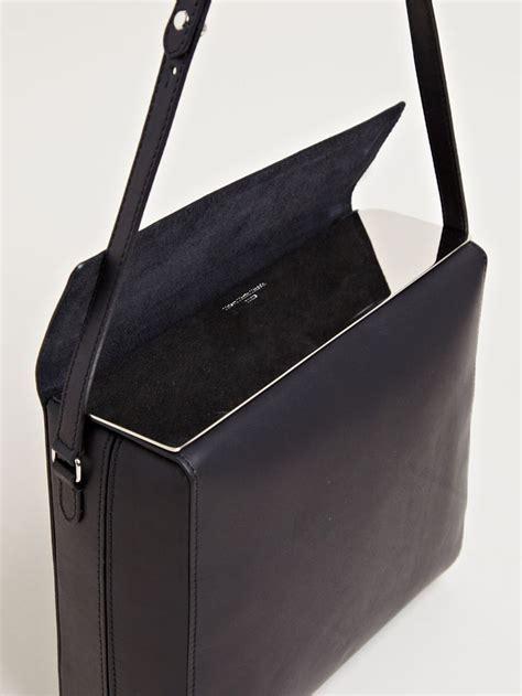Maison Martin Margiela Bags by Margiela Mirror Topped Shoulder Bag Vanillascented