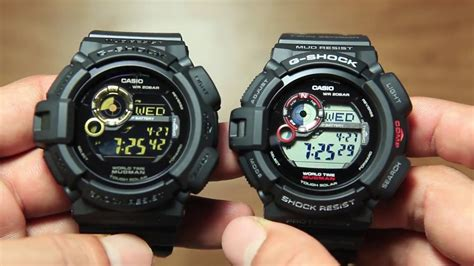 Casio G Shock Gw 9300 casio mudman g 9300gb 1 vs mudman g 9300 1