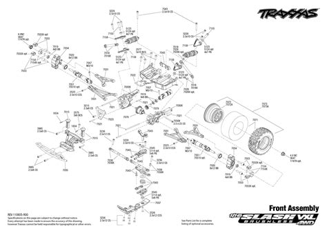 traxxas slash 4x4 parts diagram sc 7009 a wiring diagram 24 wiring diagram images