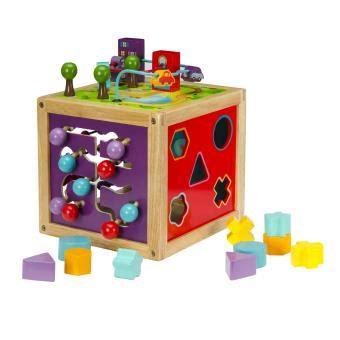 Maison Bois Enfant 4332 by Cubes D Activit 233 S En Bois Oko 239 A Achat Prix Fnac