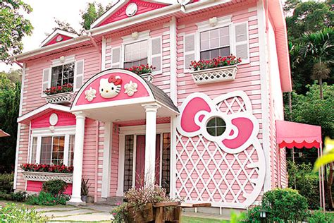 hello kitty mansion 9 wacky exterior paint jobs that will shock you