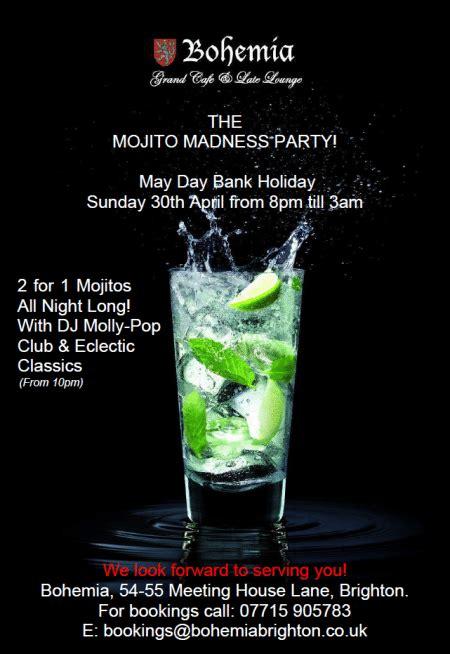 Bohem Mojito Clik you re invited to bohemia s mojito madness