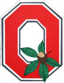 Ohio State Block O Outline by Ohio State Clip Cliparts Co