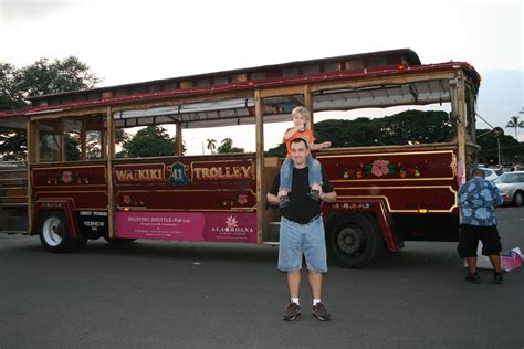honolulu city lights trolley crumpet moves to paradise honolulu city lights
