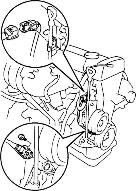 Sensor Ckp Toyota Camry 2az repair guides electronic engine controls crankshaft