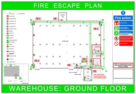 fire escape floor plan fire risk assessment raydar safety ltd