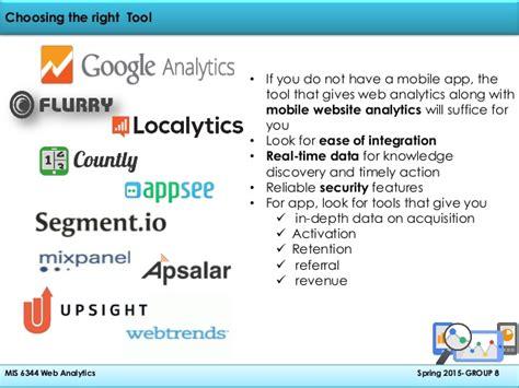 mobile web analytics mobile app analytics
