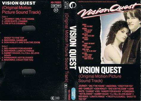 vision quest boot c tapio s ronnie dio pages vision quest soundtrack c