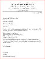 appointment letter samples business letter samples