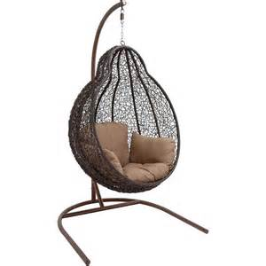 wicker hanging egg chair www imgkid the image