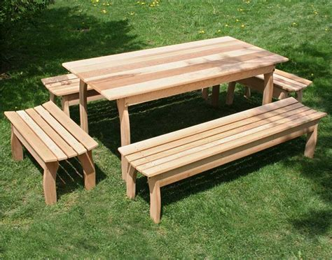 outdoor picnic bench cedar dining set cedar patio set cedar outdoor furniture