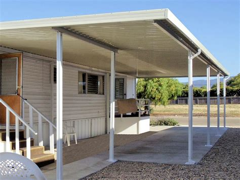 mobile home carports awnings aluminum patio cover carport prices ideas for the house