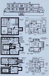 Mansion Blue Prints le plan du manoir des avengers
