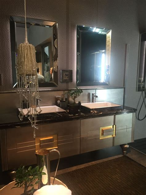amazing Small Space Interior Design #5: Luxury-double-sink-vanity-with-mirrors.jpg