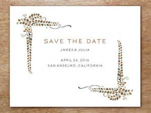 save the date free templates printable printable save the date vine