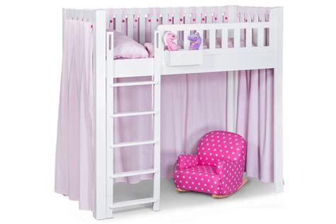 dekor vorhang der vorhang listo rosa f 252 r kinderbetten listoflex