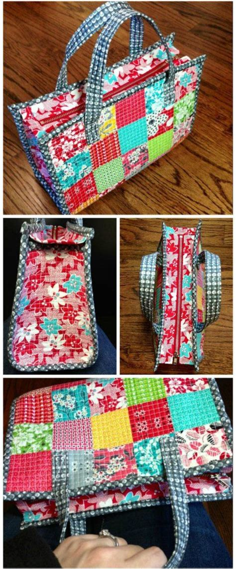 Easy Patchwork Bag Patterns - 25 unique bags sewing ideas on diy bags