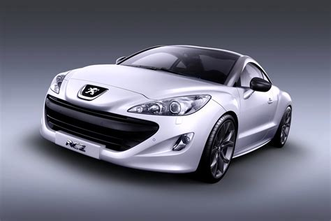 peugeot convertible rcz peugeot sports car sports cars