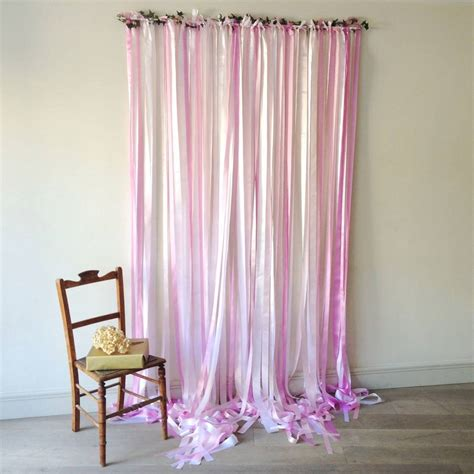 ribbon curtains 3m long ribbon curtain backdrop candy pinks by just add a