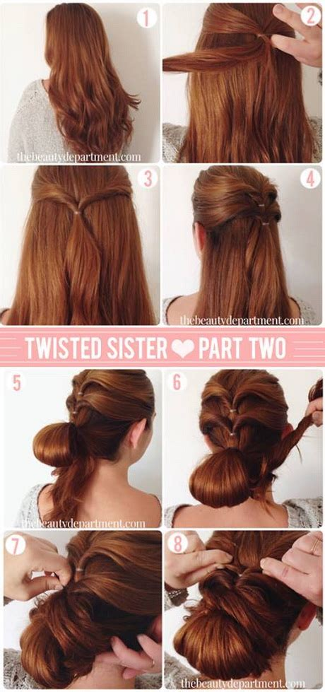 hair styles step by step with pictures hairstyles step by step