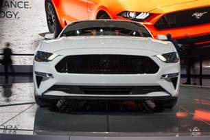 Ford Mustang 2018 Updated 2018 Ford Mustang Gt Is Quicker Than A Porsche 911