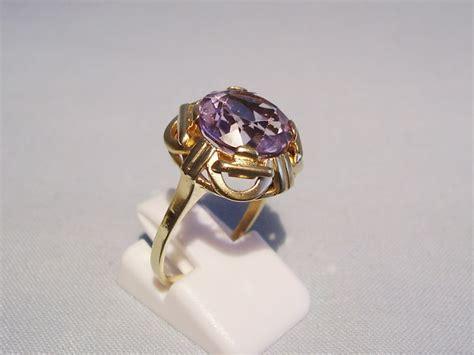 deco amethyst ring deco amethyst ring original around 1930 catawiki