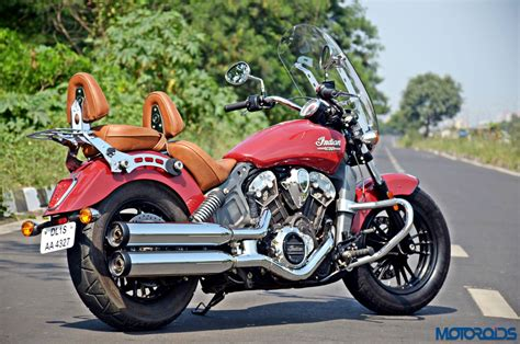 Indian Scout Review : The Big and the Small of it   Motoroids