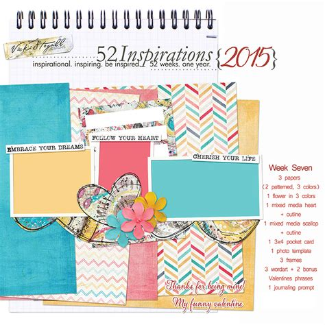 Inspirations This Week 7 by 52 Inspirations 2015 By Vicki Stegall