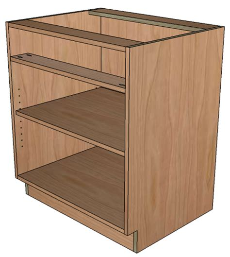Bottom Cabinet by How To Build Frameless Base Cabinets