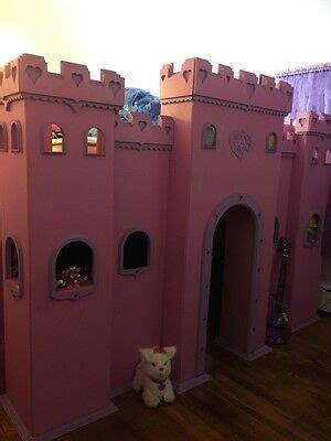 princess castle bunk bed twin ebay