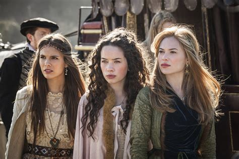reign show hairstyles reign tv show review popsugar entertainment