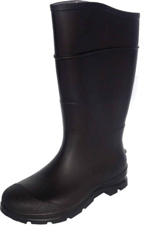servus rubber boots sg hr servus black rubber boots plain toe