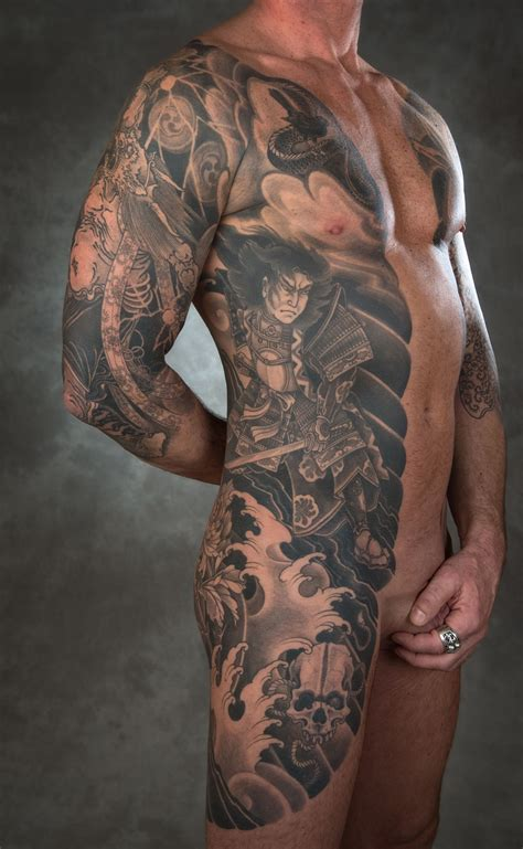samuri tattoo the samurai