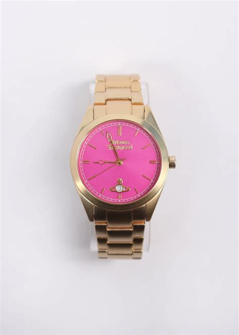 vivienne westwood jewellery st gold pink