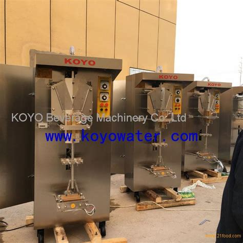 Koyo Counterpain Biasa 2 Sachet sachet water filling sealing machine 1000ml products china sachet water filling sealing