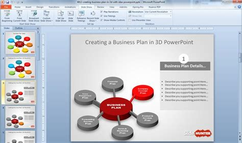 business plan powerpoint template free download 10 cool