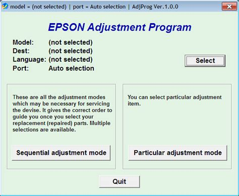Cara Reset Epson L110 Error | cara reset printer epson error ink waste is full epson