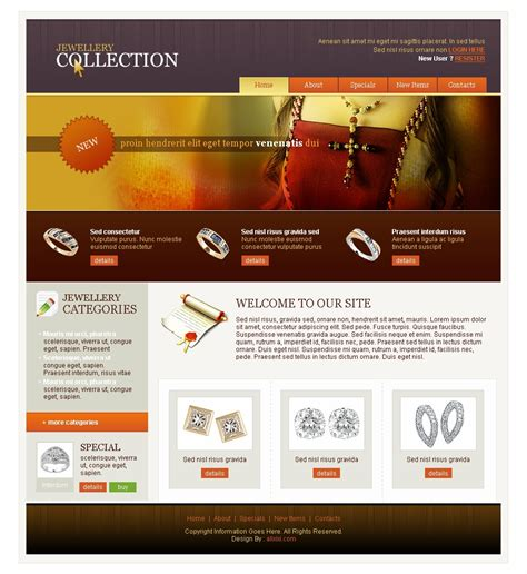 15 Html Web Templates Free Download Images Html Website Templates Free Download Website Jewellery Website Templates Free