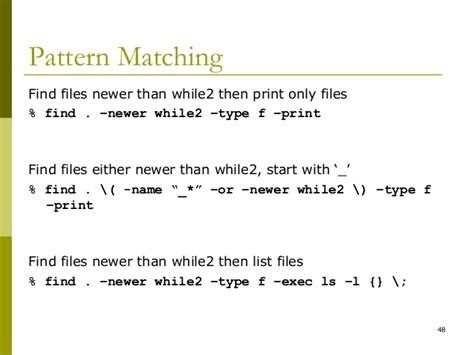 pattern matching bash script 2 introduction to shell scripting