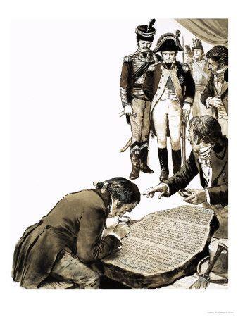 Rosetta Stone Napoleon   284 best images about 1798 1801 napoleon in egypt on