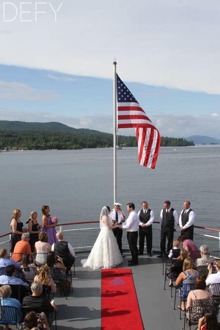 Wedding Ceremony On A Boat by Ceremony Weddings Defy Photography Llc