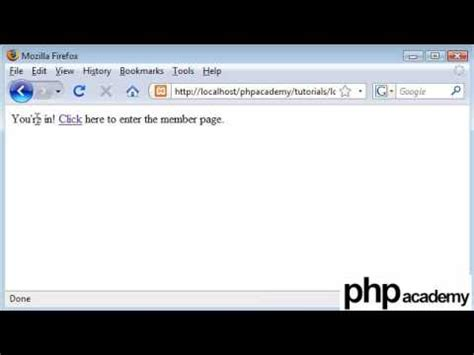 php tutorial user login php tutorials register login user password change