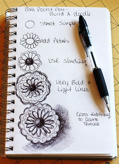 doodle 4 tips flower zen tangles and how to build on