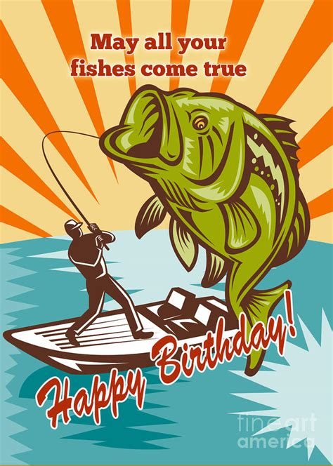 Fishing Birthday Cards Birthday Quotes For A Fisherman Quotesgram