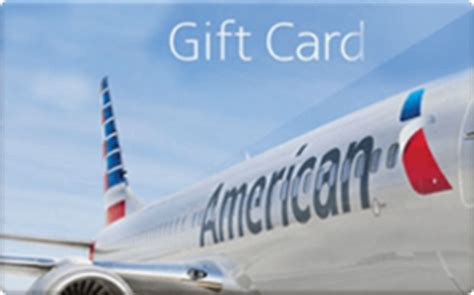 American Airlines Discount Gift Card - american airlines gift card discount 5 45 off