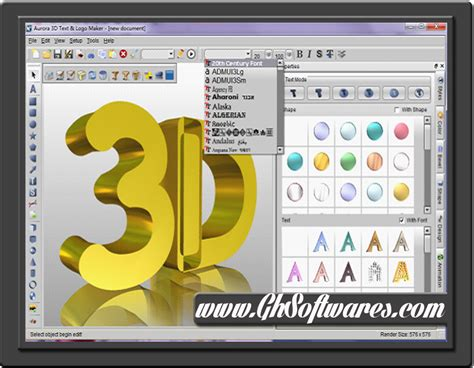 free design software online aurora 3d text logo maker v13 06 25 serial free download