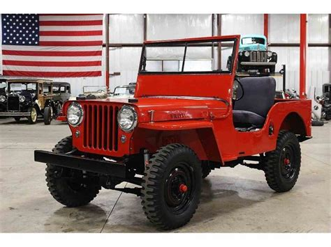 1948 Willys Jeep For Sale 1948 Jeep Willys For Sale Classiccars Cc 1036447